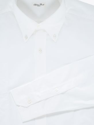 Salvatore Piccolo Slim Fit Button-Down Oxford 120 Shirt White