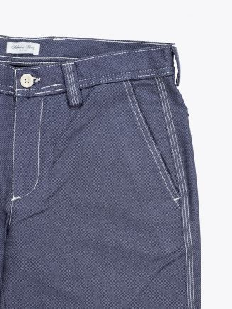 Salvatore Piccolo Tapered Leg Work Pant Blue