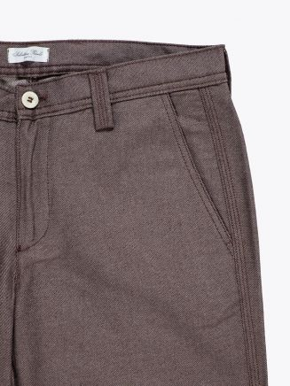 Salvatore Piccolo Tapered Leg Work Pant Brown