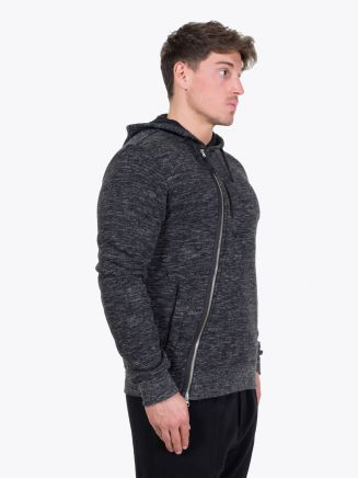 Stone Island Shadow Project 60507 Hooded Sweater Black Mélange