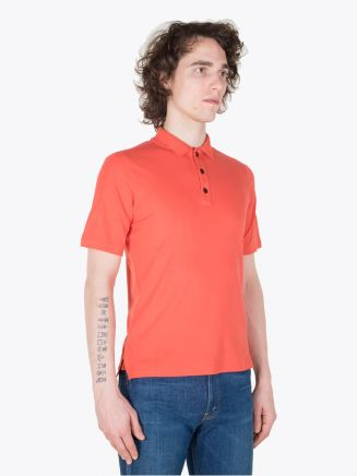 Stone Island Shadow Project 20613 Polo Shirt Coral
