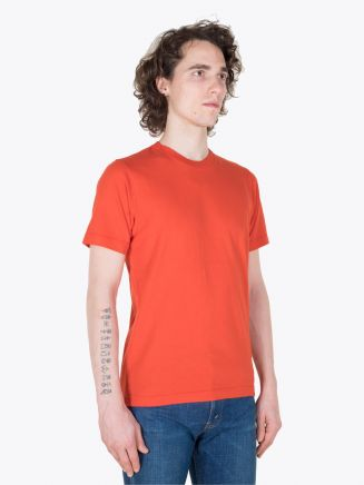 Stone Island 21319 T-Shirt Orange Red