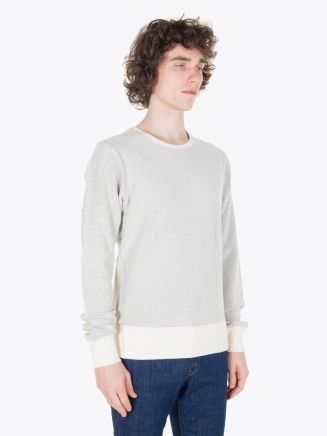Universal Works Reverse Sweat 360 Loopback Grey Marl