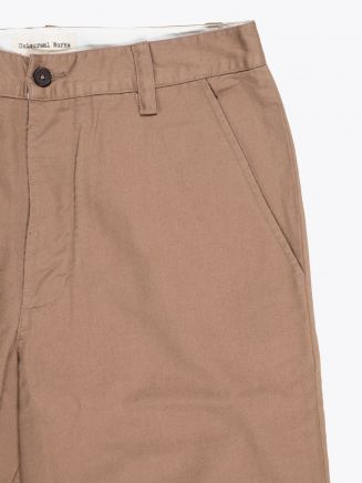 Universal Works Suit Chino 3/1 Twill Sand