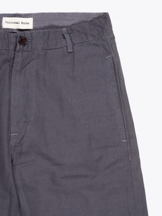 Universal Works Aston Pant Canvas Grey