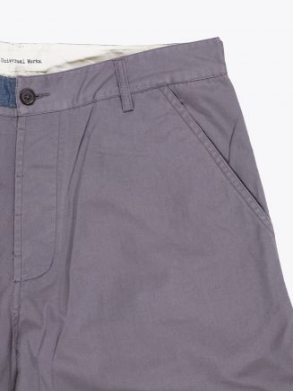 Universal Works Twill Derby Pant Grey