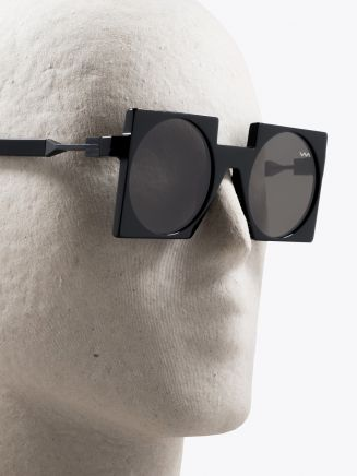 Vava | Juan Atkins 0001 Sunglasses Black