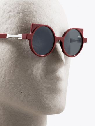 Vava White Label 0012 Sunglasses Red