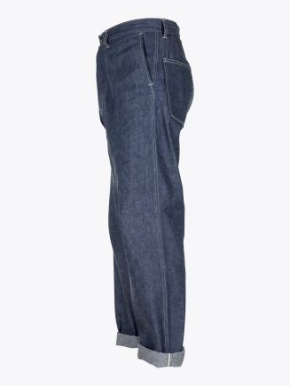 A Vontade Mil Denim Trousers Indigo