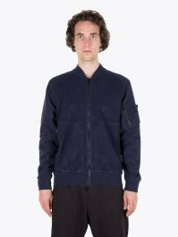 Stone Island Shadow Project 60406 Invert Bomber Jacket Navy Blue 1