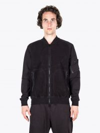 Stone Island Shadow Project 60406 Invert Bomber Jacket Black 1