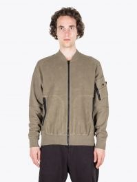 Stone Island Shadow Project 60406 Invert Bomber Jacket Military Green
