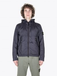 Stone Island 42423 Membrana 3L TC Hooded Jacket Navy Blue 1