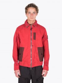 Stone Island Shadow Project 40403 Articulated Jacket Red 1