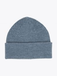 Andersen-Andersenl Wool Short Knitted Beanie Camel Front