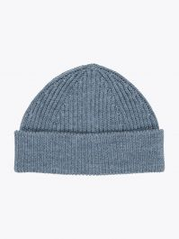 Andersen-Andersen Wool Short Beanie Light Indigo 1