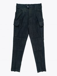 Giab's Archivio Brunelleschi Cotton Cargo Pants Denim Yellow 1