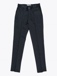 Giab's Archivio Masaccio Viscose Drawstring Pants Anthracite 1