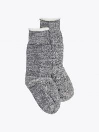 Ro To To Double Face Socks Charcoal 1