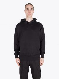 Stone Island Shadow Project 60207 Supima Felpa Hooded Sweatshirt Black 1