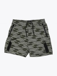 Stone Island Shadow Project B0113 Printed Naslan Light Swim Shorts Bottle Green 1