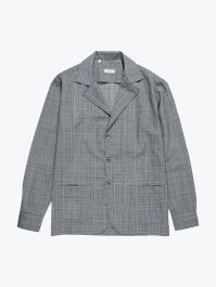 Salvatore Piccolo Checked Suit Overshirt Grey / Black 1