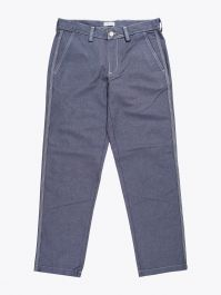 Salvatore Piccolo Tapered Leg Work Pant Blue 1