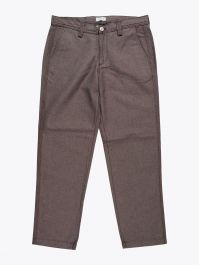 Salvatore Piccolo Tapered Leg Work Pant Brown 1