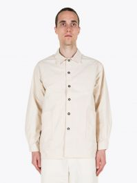 A Vontade Gardener Cotton Shirt Jacket Natural 1