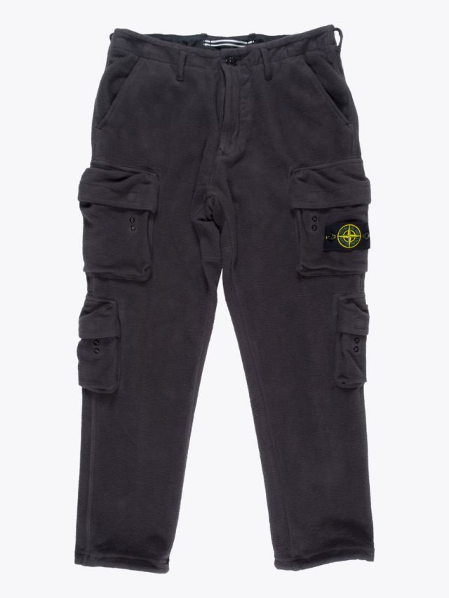 Stone Island 30740 Cargo Trousers Dark Grey 1
