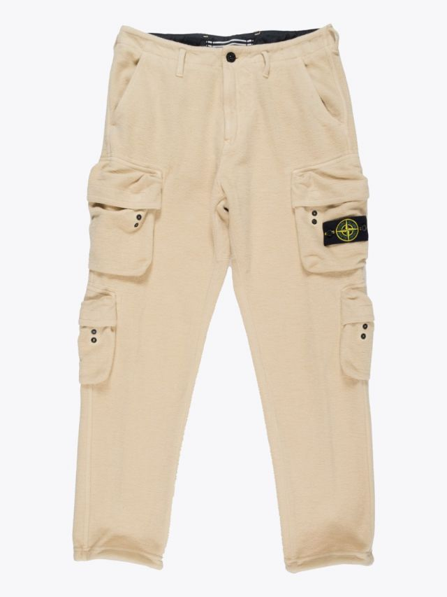 Stone Island 30740 Cargo Trousers Natural Beige 1