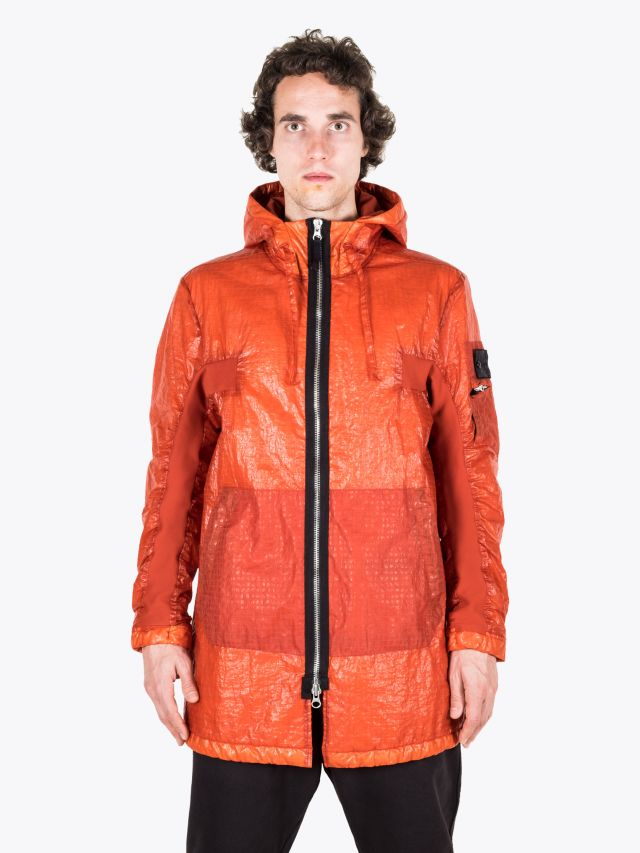 Stone Island Shadow Project 40203 Contour Parka Rust 1