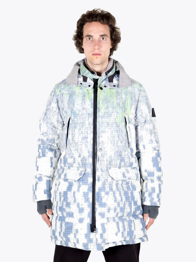 Stone Island Shadow Project 70612 Funnel Hood Parka Pistachio 1