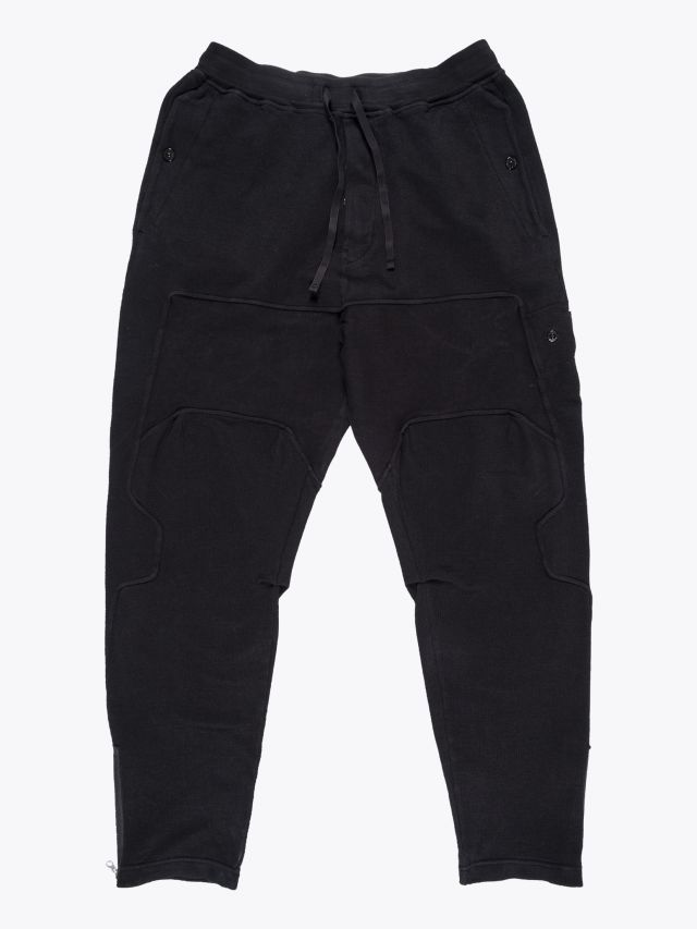 Stone Island Shadow Project 30407 Compact Sweatpants Black 1