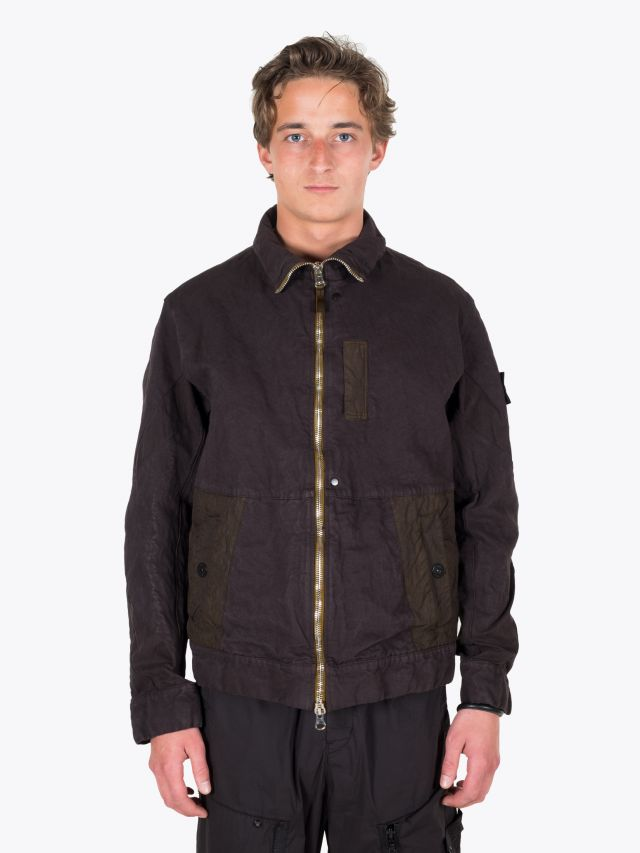 Stone Island Shadow Project 40403 Articulated Jacket Black 1