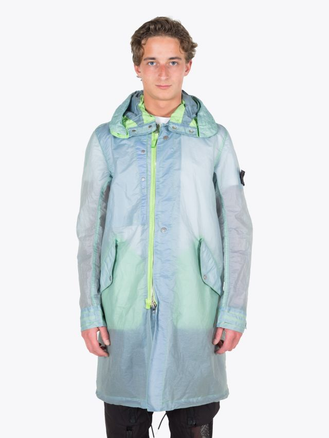 Stone Island Shadow Project 70105 Fishtail Parka Light Green 1