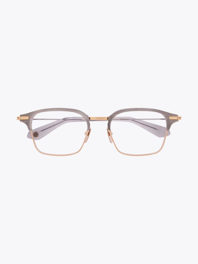 Typographer - Dita Optical Glasses Square Silver/Gold front view