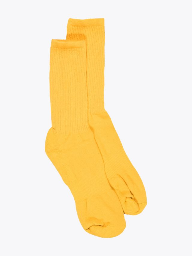 American Trench Mil-Spec Sport Sock Yellow 1