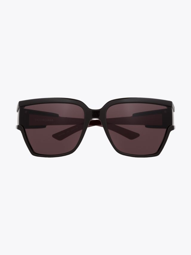 Balenciaga Unlimited D-Frame Sunglasses Brown / Brown 1