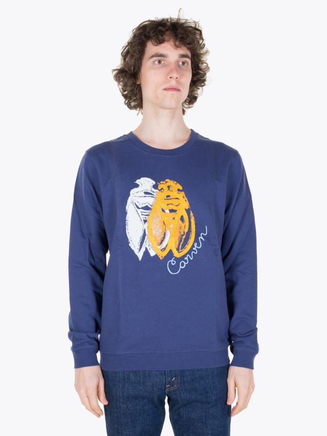 Carven Cricket Molleton Sweat Marin Full View