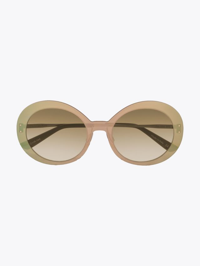 Christian Roth Archive 1993 - ­Lens On Lens­ Sunglasses Gold Mirror - Gold 1