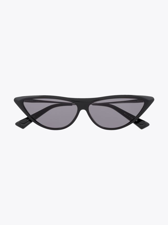 Christian Roth Rina Sunglasses Black – Black Rhodium 1