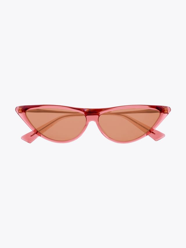 Christian Roth Rina Sunglasses Crystal Rose – Rose Gold 1