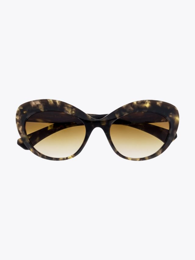 Christian Roth CR-700 Sunglasses Black Yellow Tortoise 1