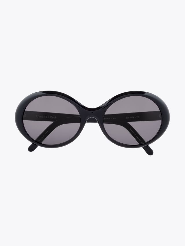 Christian Roth Series 4001 Re-Issue Sunglasses Black 1