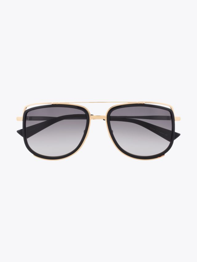 Christian Roth CR-100 Sunglasses Black / Gold 1