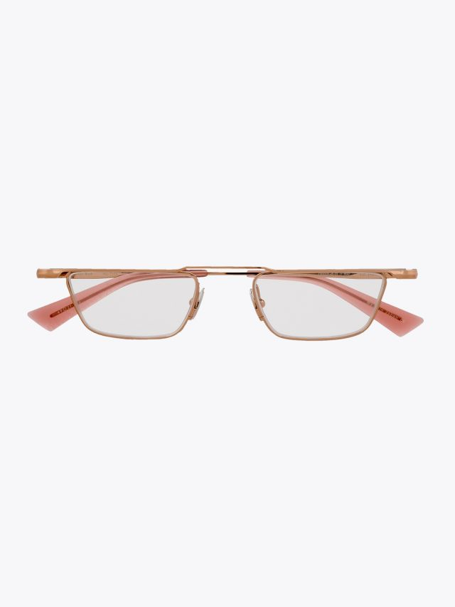 Christian Roth Nu-Type Optical Glasses Rose Gold 1