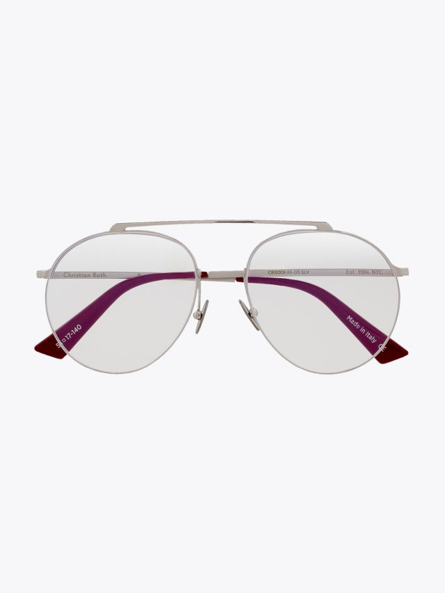 Christian Roth Reducer­ Optical Glasses Silver 1