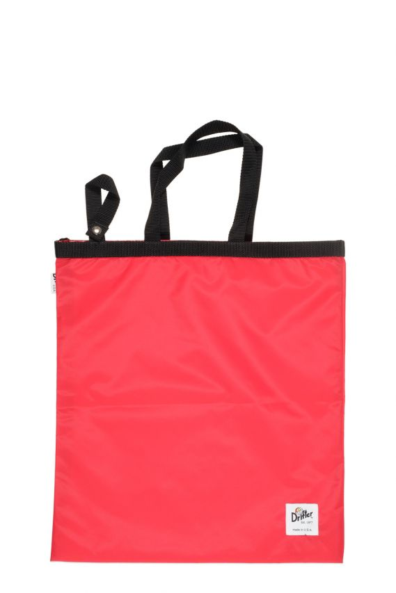 Drifter Fold Away Tote Red
