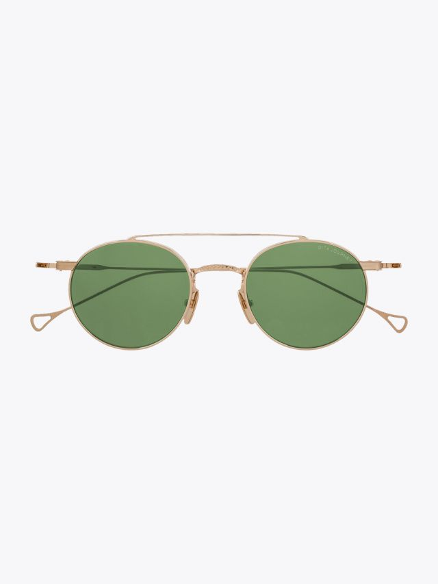 Dita Journey­ Round Sunglasses Gold